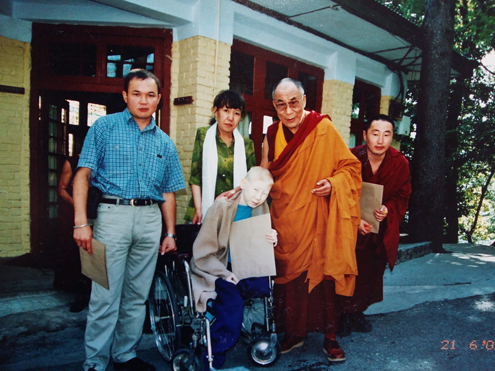 With 14th Dalai Lama, 2003